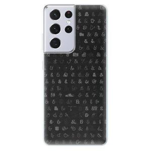 Odolné silikonové pouzdro iSaprio - Ampersand 01 na mobil Samsung Galaxy S21 Ultra 5G