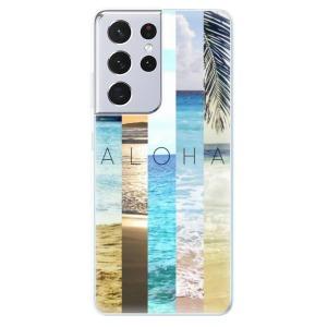 Odolné silikonové pouzdro iSaprio - Aloha 02 na mobil Samsung Galaxy S21 Ultra 5G