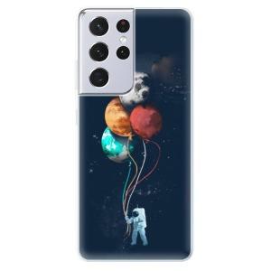 Odolné silikonové pouzdro iSaprio - Balloons 02 na mobil Samsung Galaxy S21 Ultra 5G