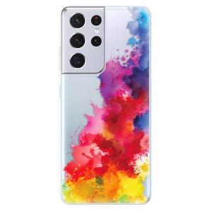 Odolné silikonové pouzdro iSaprio - Color Splash 01 na mobil Samsung Galaxy S21 Ultra 5G