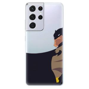 Odolné silikonové pouzdro iSaprio - BaT Comics na mobil Samsung Galaxy S21 Ultra 5G