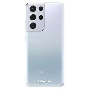 Odolné silikonové pouzdro iSaprio - 4Pure - čiré bez potisku na mobil Samsung Galaxy S21 Ultra 5G