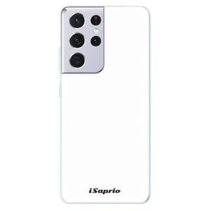 Odolné silikonové pouzdro iSaprio - 4Pure - bílé na mobil Samsung Galaxy S21 Ultra 5G