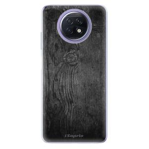 Odolné silikonové pouzdro iSaprio - Black Wood 13 na mobil Xiaomi Redmi Note 9T 5G