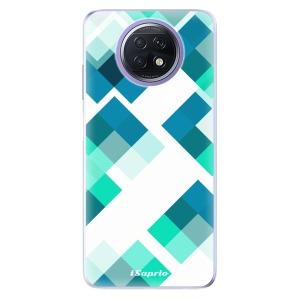 Odolné silikonové pouzdro iSaprio - Abstract Squares 11 na mobil Xiaomi Redmi Note 9T 5G