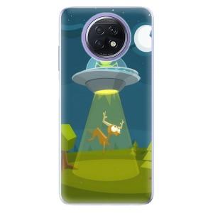 Odolné silikonové pouzdro iSaprio - Alien 01 na mobil Xiaomi Redmi Note 9T 5G