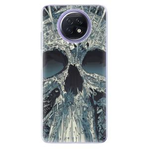 Odolné silikonové pouzdro iSaprio - Abstract Skull na mobil Xiaomi Redmi Note 9T 5G