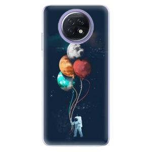 Odolné silikonové pouzdro iSaprio - Balloons 02 na mobil Xiaomi Redmi Note 9T 5G