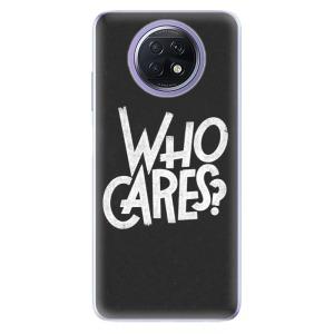 Odolné silikonové pouzdro iSaprio - Who Cares na mobil Xiaomi Redmi Note 9T 5G
