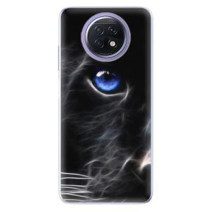 Odolné silikonové pouzdro iSaprio - Black Puma na mobil Xiaomi Redmi Note 9T 5G