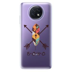 Odolné silikonové pouzdro iSaprio - BOHO na mobil Xiaomi Redmi Note 9T 5G