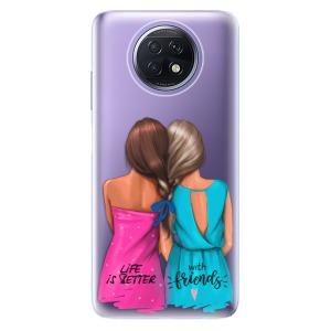 Odolné silikonové pouzdro iSaprio - Best Friends na mobil Xiaomi Redmi Note 9T 5G