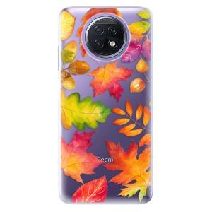 Odolné silikonové pouzdro iSaprio - Autumn Leaves 01 na mobil Xiaomi Redmi Note 9T 5G