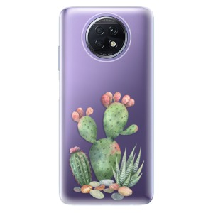 Odolné silikonové pouzdro iSaprio - Cacti 01 na mobil Xiaomi Redmi Note 9T 5G