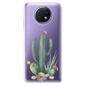 Odolné silikonové pouzdro iSaprio - Cacti 02 na mobil Xiaomi Redmi Note 9T 5G