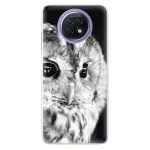 Odolné silikonové pouzdro iSaprio - BW Owl na mobil Xiaomi Redmi Note 9T 5G