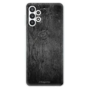 Odolné silikonové pouzdro iSaprio - Black Wood 13 na mobil Samsung Galaxy A32 LTE