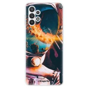 Odolné silikonové pouzdro iSaprio - Astronaut 01 na mobil Samsung Galaxy A32 LTE