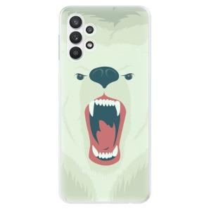 Odolné silikonové pouzdro iSaprio - Angry Bear na mobil Samsung Galaxy A32 LTE
