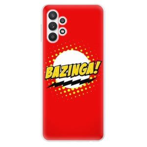 Odolné silikonové pouzdro iSaprio - Bazinga 01 na mobil Samsung Galaxy A32 LTE