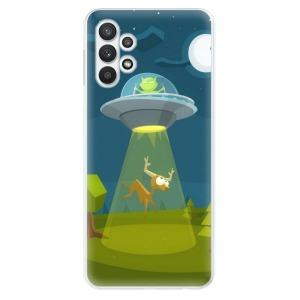 Odolné silikonové pouzdro iSaprio - Alien 01 na mobil Samsung Galaxy A32 LTE