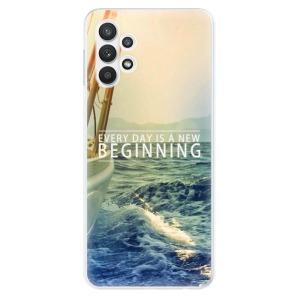 Odolné silikonové pouzdro iSaprio - Beginning na mobil Samsung Galaxy A32 LTE