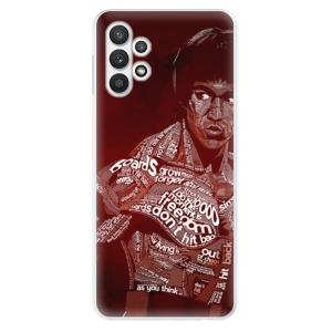 Odolné silikonové pouzdro iSaprio - Bruce Lee na mobil Samsung Galaxy A32 LTE