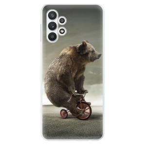 Odolné silikonové pouzdro iSaprio - Bear 01 na mobil Samsung Galaxy A32 LTE
