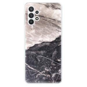 Odolné silikonové pouzdro iSaprio - BW Marble na mobil Samsung Galaxy A32 LTE