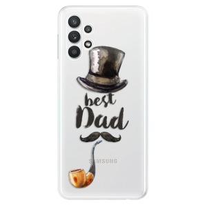 Odolné silikonové pouzdro iSaprio - Best Dad na mobil Samsung Galaxy A32 LTE