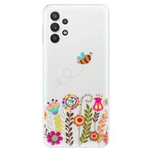Odolné silikonové pouzdro iSaprio - Bee 01 na mobil Samsung Galaxy A32 LTE