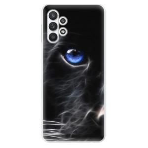 Odolné silikonové pouzdro iSaprio - Black Puma na mobil Samsung Galaxy A32 LTE