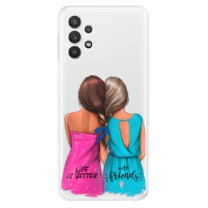 Odolné silikonové pouzdro iSaprio - Best Friends na mobil Samsung Galaxy A32 LTE