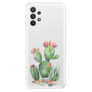 Odolné silikonové pouzdro iSaprio - Cacti 01 na mobil Samsung Galaxy A32 LTE