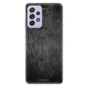 Odolné silikonové pouzdro iSaprio - Black Wood 13 na mobil Samsung Galaxy A52 / A52 5G