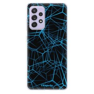 Odolné silikonové pouzdro iSaprio - Abstract Outlines 12 na mobil Samsung Galaxy A52 / A52 5G