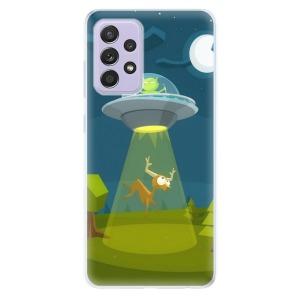 Odolné silikonové pouzdro iSaprio - Alien 01 na mobil Samsung Galaxy A52 / A52 5G