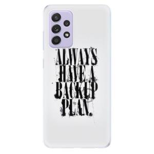 Odolné silikonové pouzdro iSaprio - Backup Plan na mobil Samsung Galaxy A52 / A52 5G