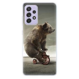 Odolné silikonové pouzdro iSaprio - Bear 01 na mobil Samsung Galaxy A52 / A52 5G