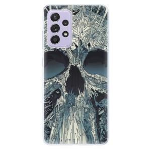 Odolné silikonové pouzdro iSaprio - Abstract Skull na mobil Samsung Galaxy A52 / A52 5G
