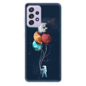Odolné silikonové pouzdro iSaprio - Balloons 02 na mobil Samsung Galaxy A52 / A52 5G