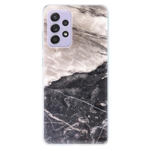 Odolné silikonové pouzdro iSaprio - BW Marble na mobil Samsung Galaxy A52 / A52 5G