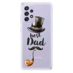 Odolné silikonové pouzdro iSaprio - Best Dad na mobil Samsung Galaxy A52 / A52 5G
