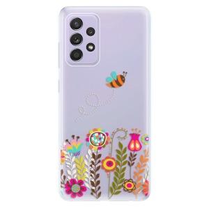 Odolné silikonové pouzdro iSaprio - Bee 01 na mobil Samsung Galaxy A52 / A52 5G