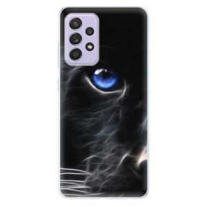 Odolné silikonové pouzdro iSaprio - Black Puma na mobil Samsung Galaxy A52 / A52 5G