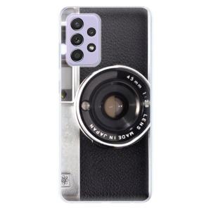 Odolné silikonové pouzdro iSaprio - Vintage Camera 01 na mobil Samsung Galaxy A52 / A52 5G / A52s 5G - výprodej