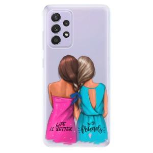 Odolné silikonové pouzdro iSaprio - Best Friends na mobil Samsung Galaxy A52 / A52 5G