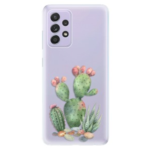 Odolné silikonové pouzdro iSaprio - Cacti 01 na mobil Samsung Galaxy A52 / A52 5G