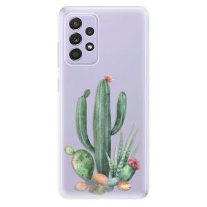 Odolné silikonové pouzdro iSaprio - Cacti 02 na mobil Samsung Galaxy A52 / A52 5G