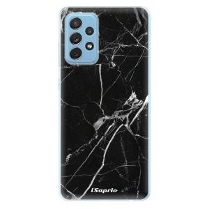 Odolné silikonové pouzdro iSaprio - Black Marble 18 na mobil Samsung Galaxy A72